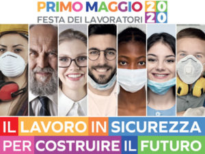 """1° maggio 2020, """"Il lavoro in sicurezza per costruire il futuro"""". Interventi e concerto solo in video su RAI 3"""